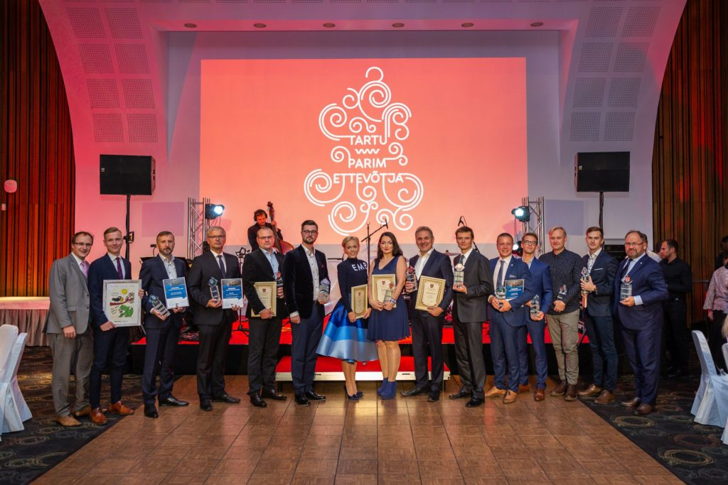 Elite Clinic as the Best Medicine and Life Science Entrepreneur of the Year 2018 in Tartu