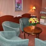 После родов есть возможность принимать гостей в предназначенной для этого комнате