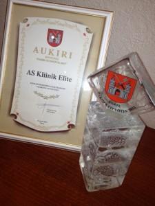 Elite Klinik – Bästa Medicin och Life Science Entreprenör of the Year 2012