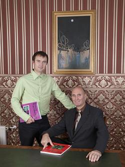 Pappa och hans son - Andrei och Deniss Sõritsa