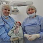 Lastearst dr Anne Antson ja ämmaemand Ene Kons