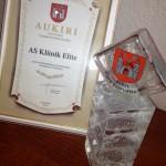 """Auhind Elite kliinikule """"Parim meditsiiniettevõte"""""""