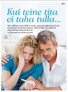 Pere ja Kodu artikkel 2015 - Kui teine tita ei taha tulla