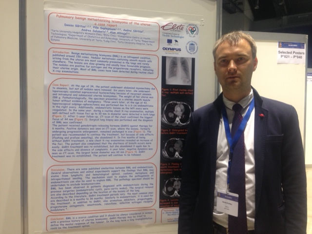 ESGE 2015 _ Best Selected Poster nominee - Presentation of Deniss Sõritsa