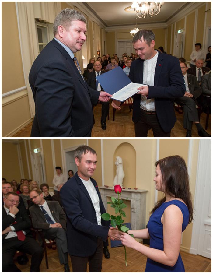 Deniss Sõritsa TÜ Andreas ja Elmerice Traksi stipendiumi laureaat 2015