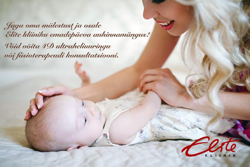 2016 Elite kliiniku emadepäeva kampaania