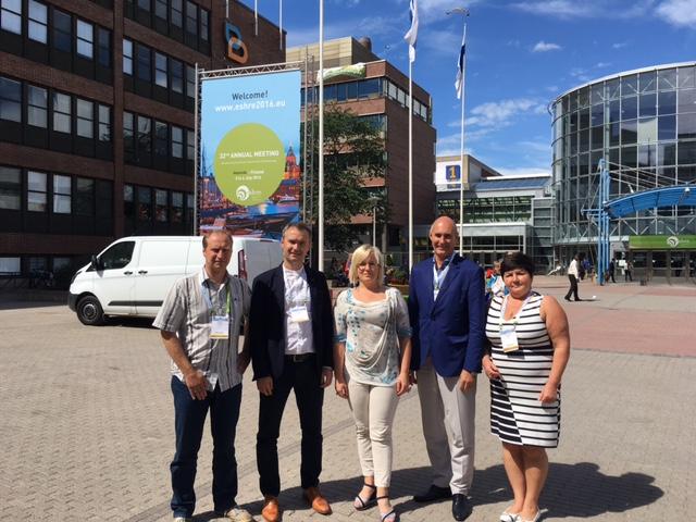 Elite viljatusravi meeskond ESHRE 2016 aastakonverentsil