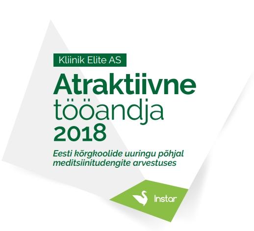 2018 ELITE KLIINIK ATRAKTIIVNE TÖÖANDJA