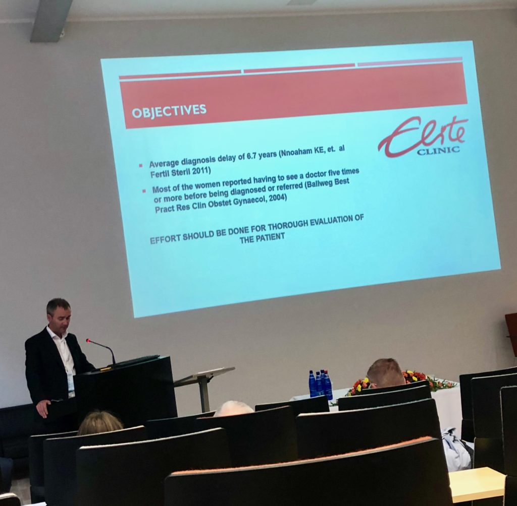 Deniss Sõritsa ettekanne Septembris 2017 Baltic Fertility Society aastakonverentsil.