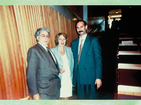 Andrei Sõritsa koos Robert Edwardsiga Kielis1993