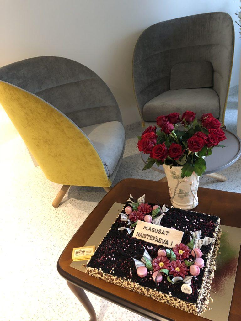 Naistepäev Elite kliiniku kolmandal korrusel 8. märtsil 2019